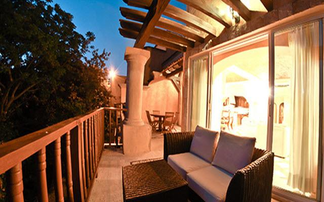 Hotel Eurostars Hacienda Vista Real, replica de una típica hacienda mexicana