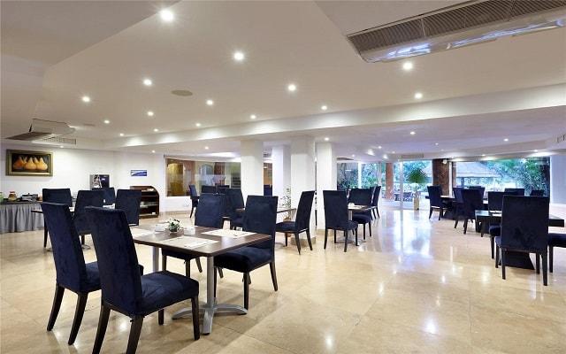 Hotel Eurostars Hacienda Vista Real, sitio ideal para tus alimentos