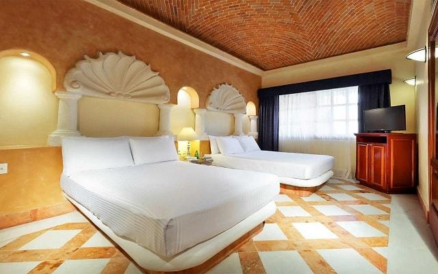 Hotel Eurostars Hacienda Vista Real, habitaciones bien equipadas