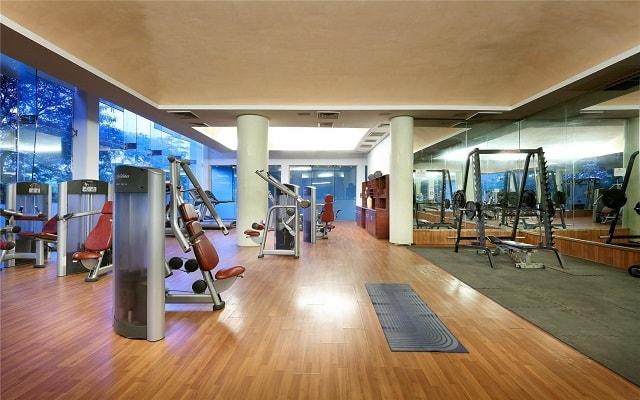 Hotel Eurostars Hacienda Vista Real, gimnasio bien equipado