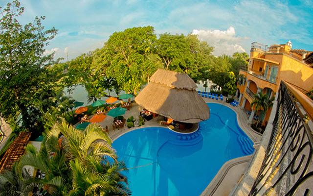 Hotel Eurostars Hacienda Vista Real, hermosa vista aérea