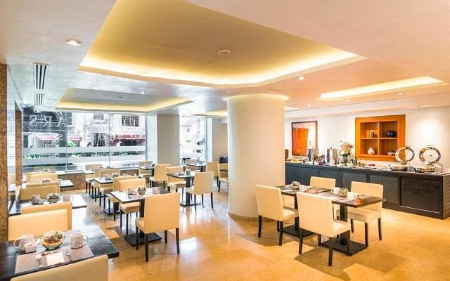 Hotel Eurostars Zona Rosa Suites, escenario ideal para tu desayuno