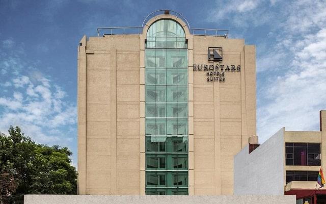 Hotel Eurostars Zona Rosa Suites, buena ubicación