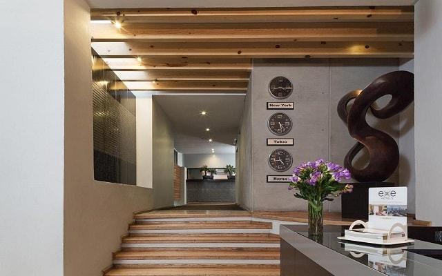 Hotel Exe Cities Reforma, atención personalizada desde el inicio de tu estancia