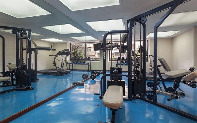 Hotel Exe Suites San Marino, gimnasio