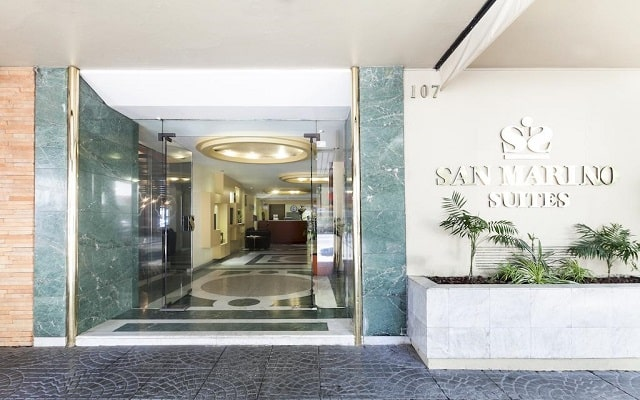 Hotel Exe Suites San Marino, buena ubicación