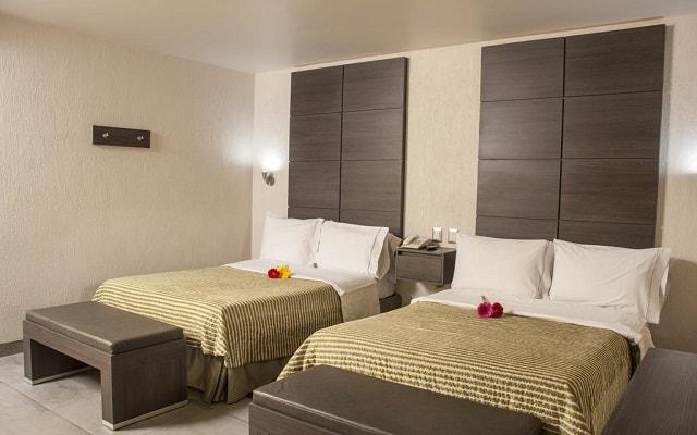 Hotel Expo Abastos, amplias y luminosas habitaciones