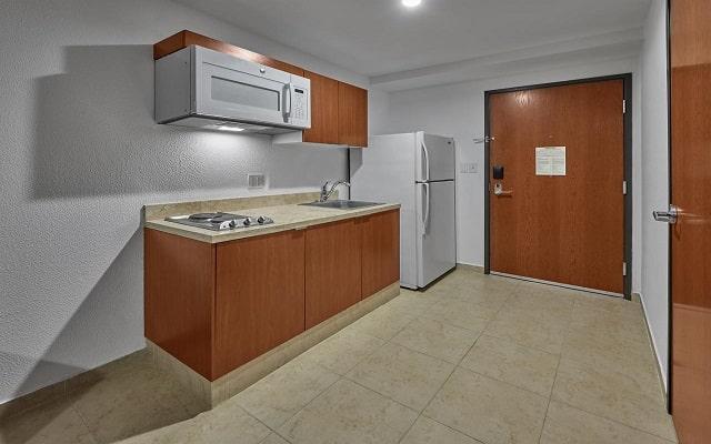 Hotel Extended Suites Coatzacoalcos Forum, habitaciones bien equipadas