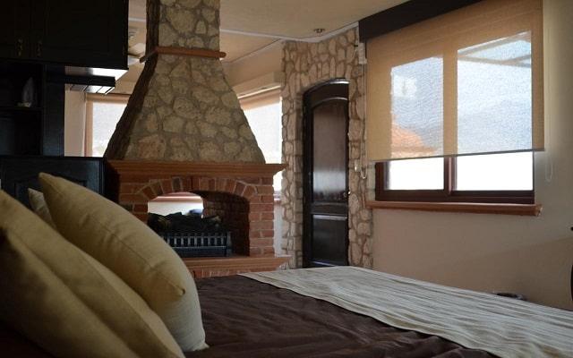 Hotel Feregrino, algunas habitaciones tienen chimenea