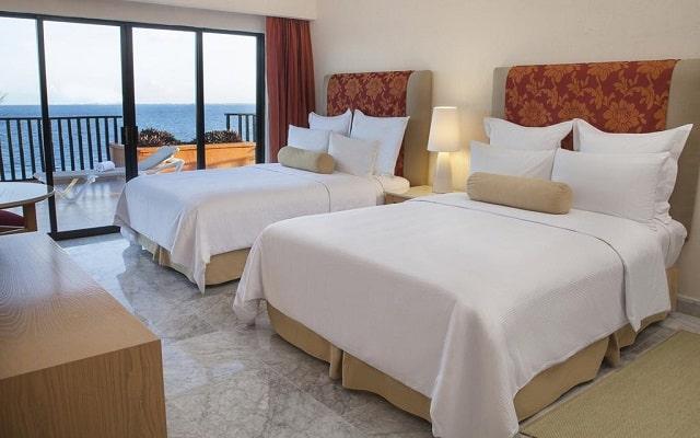 Hotel Fiesta Americana Cancún Villas, amplias y luminosas habitaciones