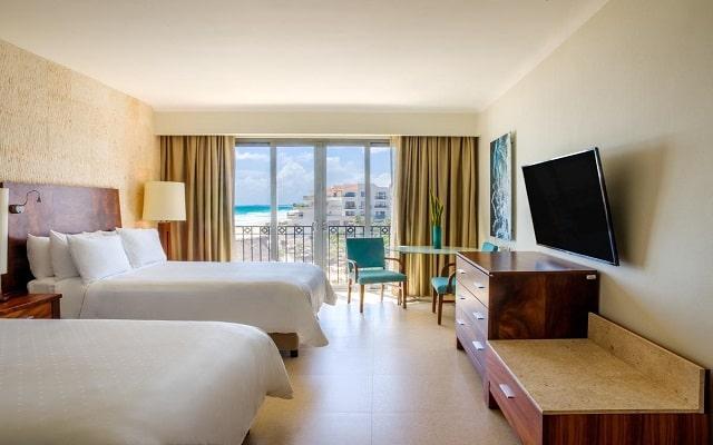 Hotel Fiesta Americana Condesa Cancún All Inclusive, habitaciones con todas las amenidades