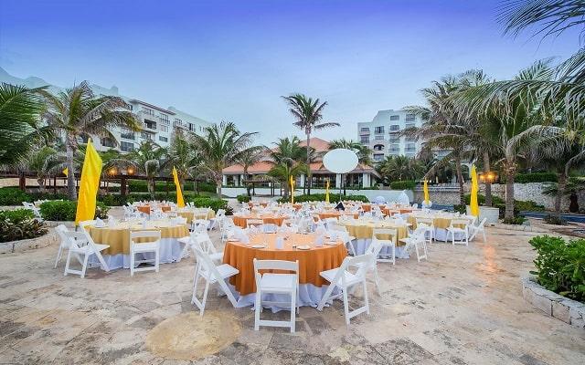 Hotel Fiesta Americana Condesa Cancún All Inclusive, sitios acondicionados para tu celebración