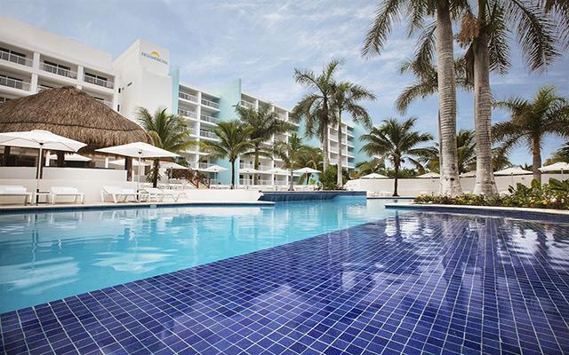 Hotel Fiesta Americana Cozumel All Inclusive, disfruta de su alberca al aire libre