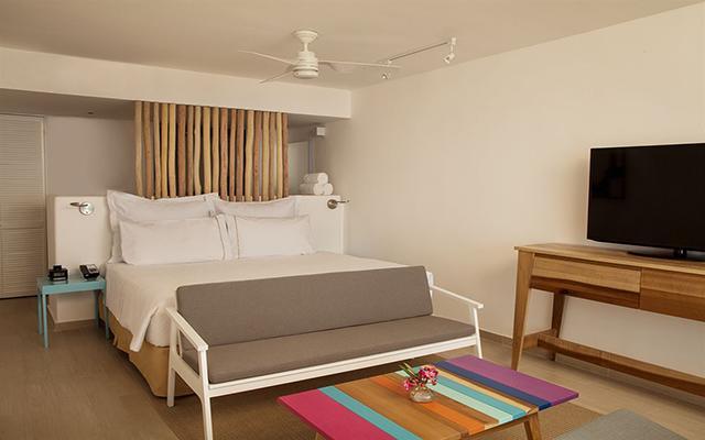 Hotel Fiesta Americana Cozumel All Inclusive, habitaciones bien equipadas