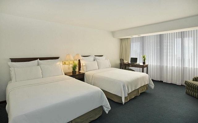 Hotel Fiesta Americana Guadalajara, amplias y luminosas habitaciones