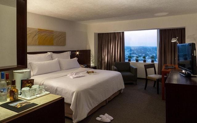 Hotel Fiesta Americana Guadalajara, habitaciones con todas las amenidades