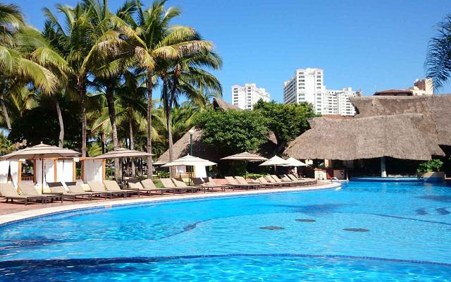 Hotel Fiesta Americana Puerto Vallarta All Inclusive & Spa, disfruta de su alberca al aire libre