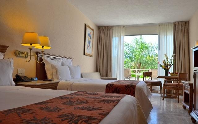 Hotel Fiesta Americana Puerto Vallarta All Inclusive & Spa, amplias y luminosas habitaciones