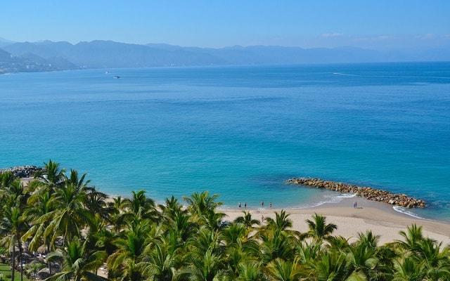 Hotel Fiesta Americana Puerto Vallarta All Inclusive & Spa, buena ubicación a pasos del mar