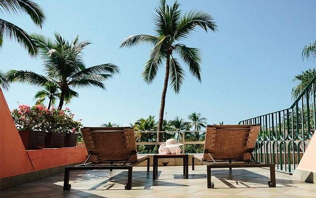 Hotel Fiesta Americana Puerto Vallarta All Inclusive & Spa, asoléate en la terraza