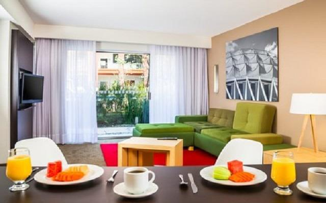 Hotel Fiesta Inn Aeropuerto Ciudad de México, habitaciones bien equipadas
