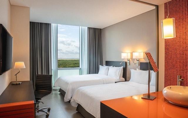 Hotel Fiesta Inn Cancún Las Américas, acogedoras habitaciones