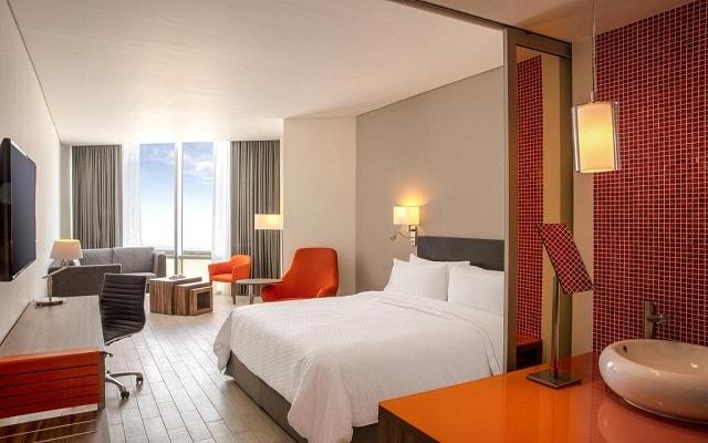 Hotel Fiesta Inn Cancún Las Américas, habitaciones bien equipadas