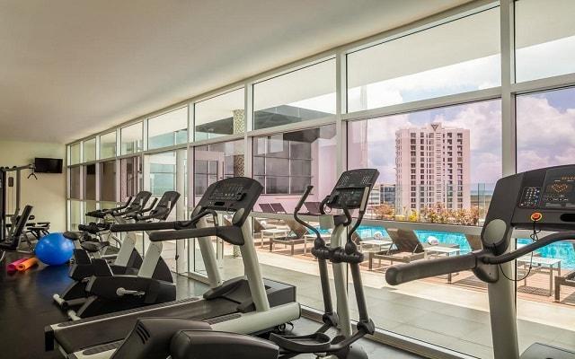 Hotel Fiesta Inn Cancún Las Américas, gimnasio