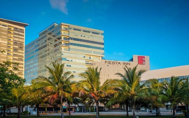 Hotel Fiesta Inn Cancún Las Américas, buena ubicación
