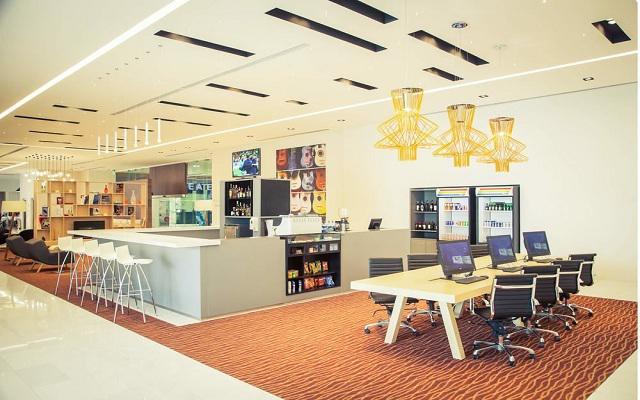Hotel Fiesta Inn Plaza Central Aeropuerto, centro de negocios