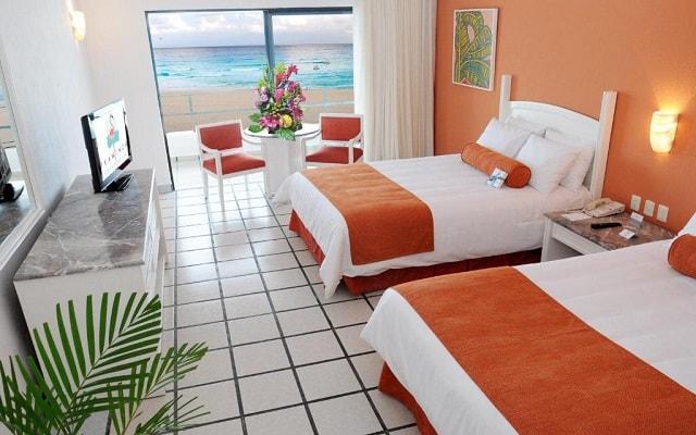 Hotel Flamingo Cancún Resort, habitaciones bien equipadas