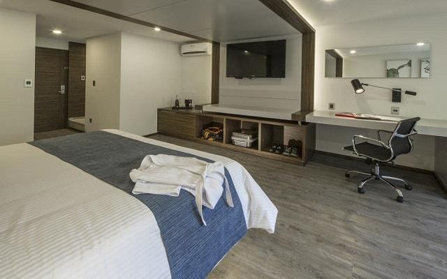 Hotel FlowSuites Condesa, habitaciones bien equipadas