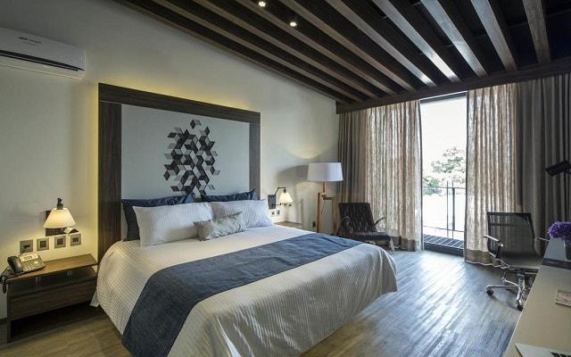 Hotel FlowSuites Condesa, luminosas habitaciones