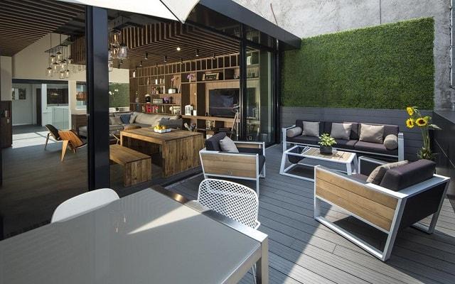 Hotel FlowSuites Condesa, disfruta una copa en la terraza