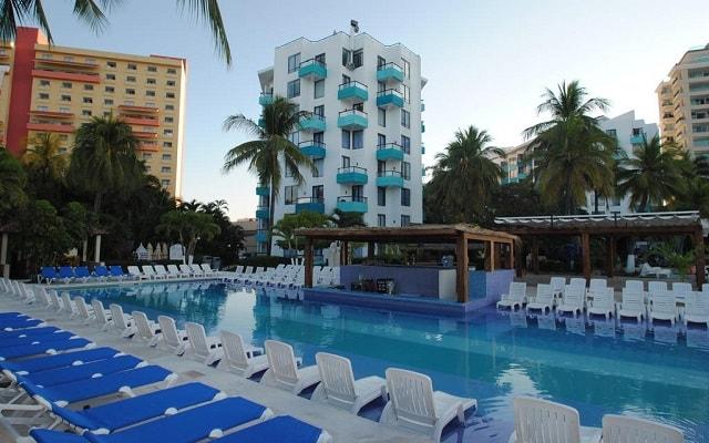 Hotel Fontan Ixtapa Beach Resort, amenidades en cada sitio