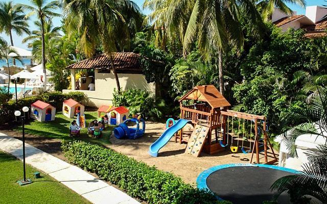 Hotel Fontan Ixtapa Beach Resort, cuenta con club de niños