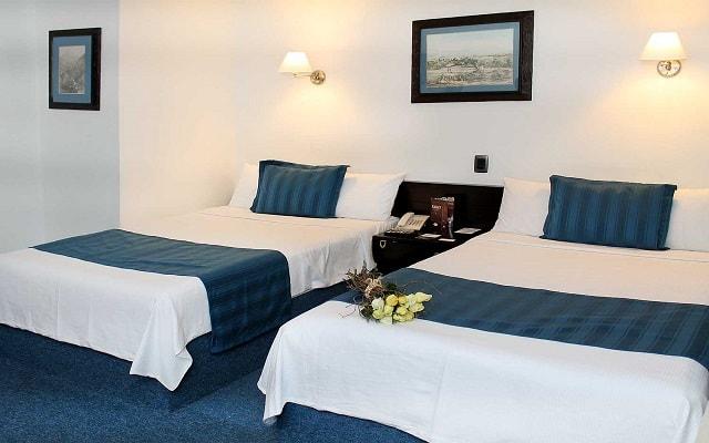 Hotel Fontan Ixtapa Beach Resort, amplias y luminosas habitaciones