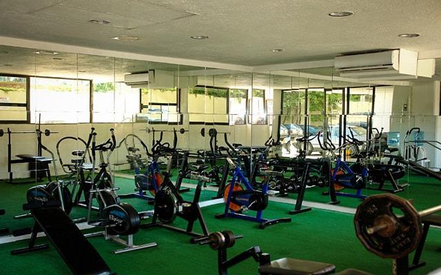 Hotel Fontan Ixtapa Beach Resort, gimnasio bien equipado