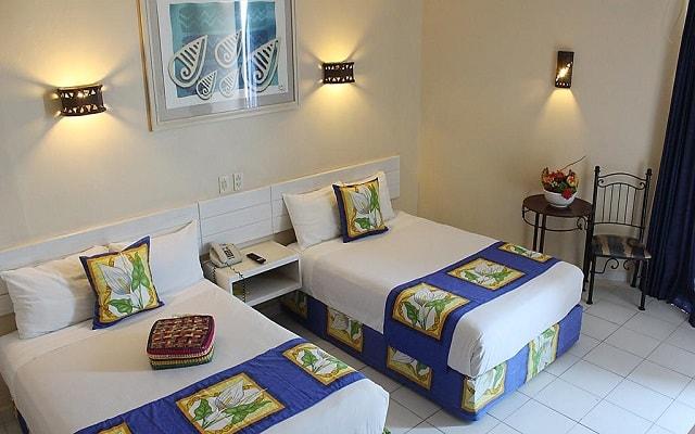 Hotel Fontan Ixtapa Beach Resort, habitaciones con todas las amenidades
