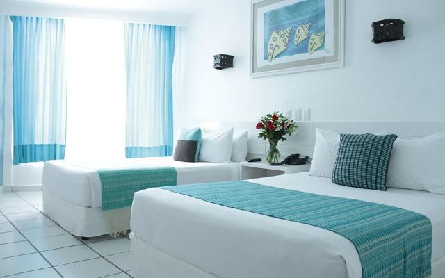 Hotel Fontan Ixtapa Beach Resort, ofrece cómodas habitaciones