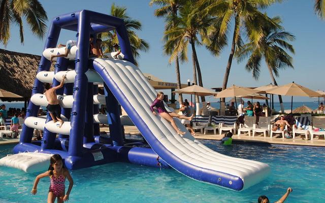 Hotel Fontan Ixtapa Beach Resort, diversión para toda la familia