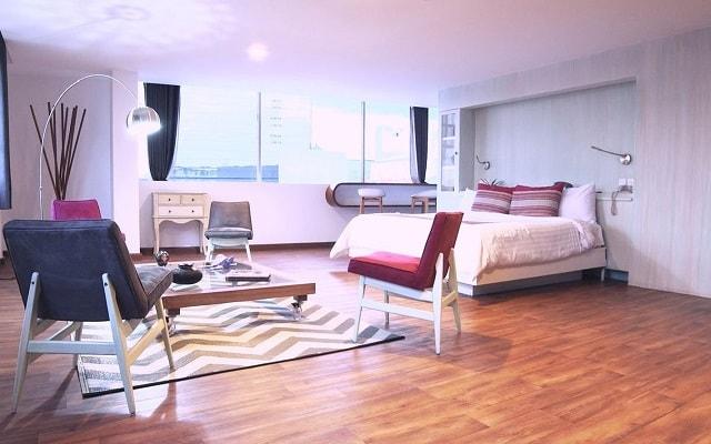 Hotel Fontán Reforma, habitaciones bien equipadas