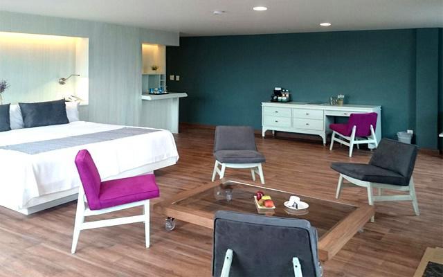 Las categorías Master Suite disponen de jacuzzi y acceso al lounge ejecutivo
