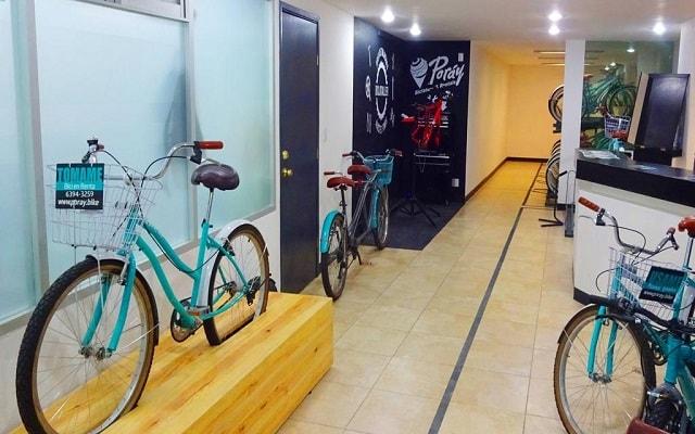 Hotel Fontán Reforma, renta de bicicletas