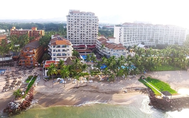 Hotel Friendly Vallarta Family All Inclusive Beach Resort and Spa, buena ubicación