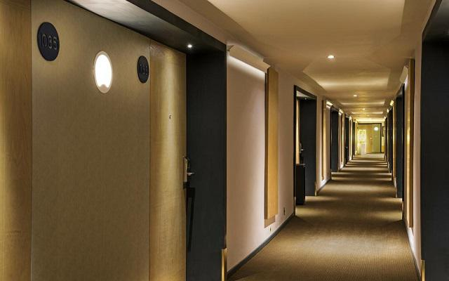 Hotel Galería Plaza Reforma, limpieza y frescura en todas sus instalaciones