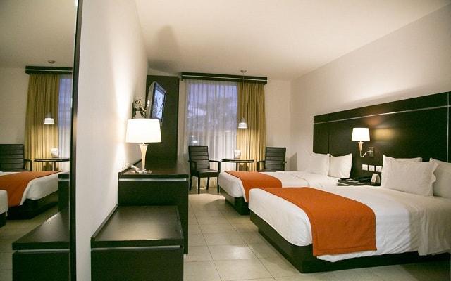 Hotel Gamma Veracruz Boca del Río Oliba, habitaciones bien equipadas