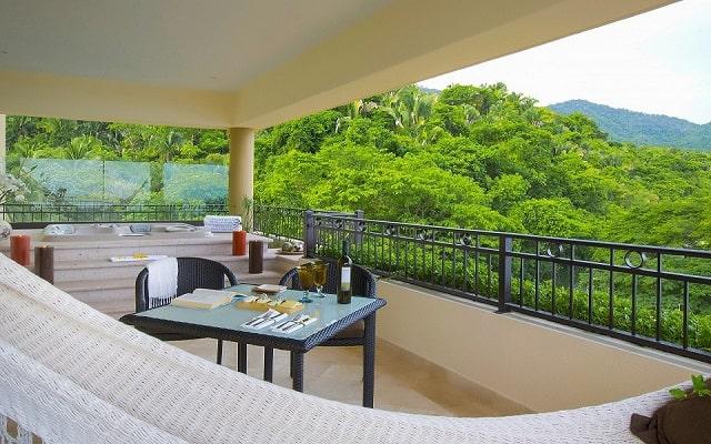 Hotel Garza Blanca Residences All Inclusive, vista a la montaña