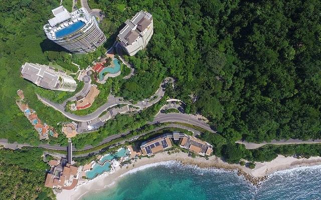 Hotel Garza Blanca Residences All Inclusive, vista aérea