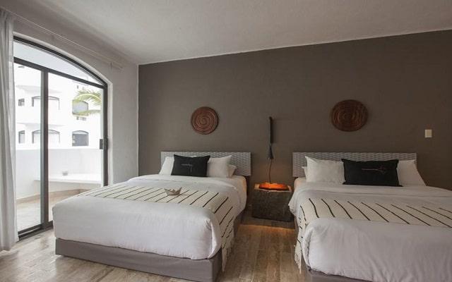 Hotel Gaviana Resort, amplias y luminosas habitaciones